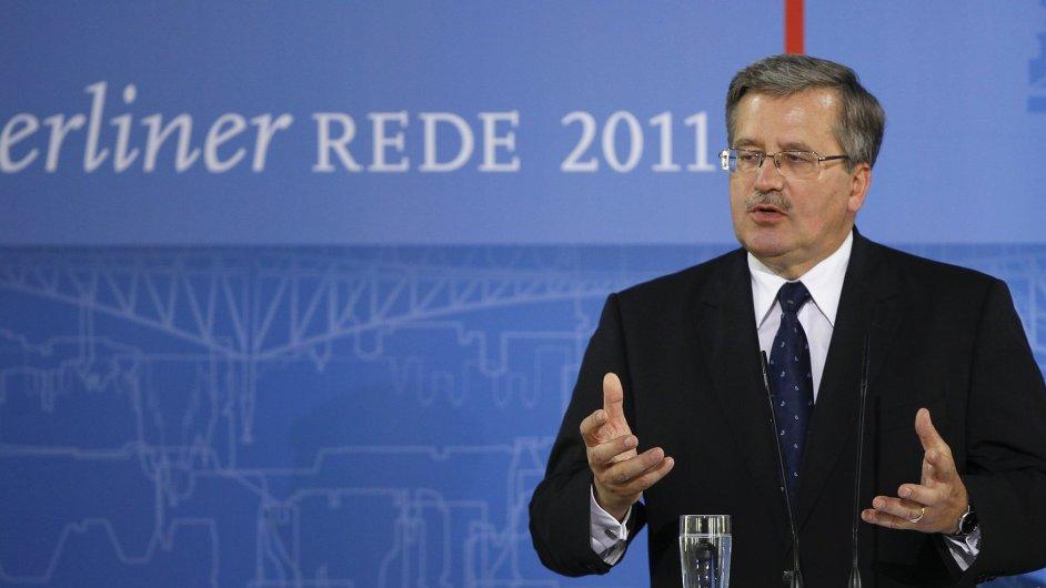 Polský prezident Bronislaw Komorowski