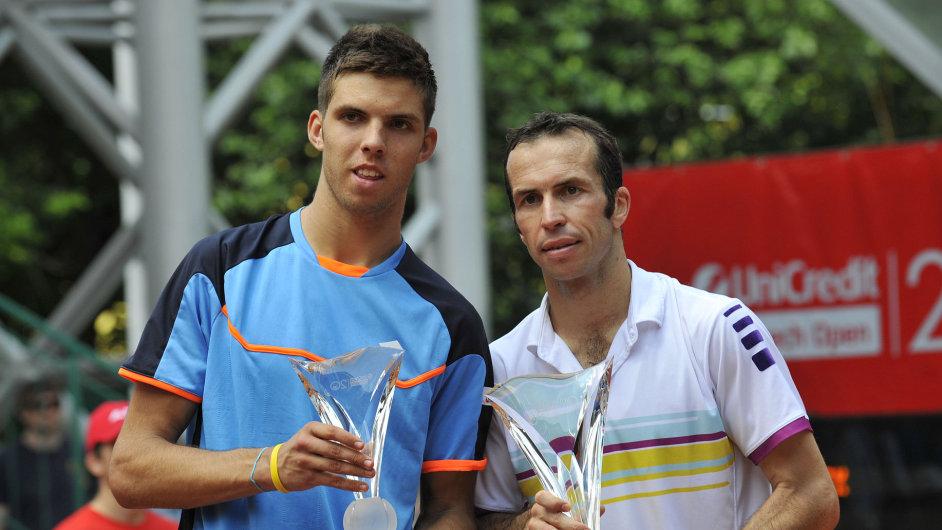 Jiří Veselý (vlevo) a Radek Štěpánek