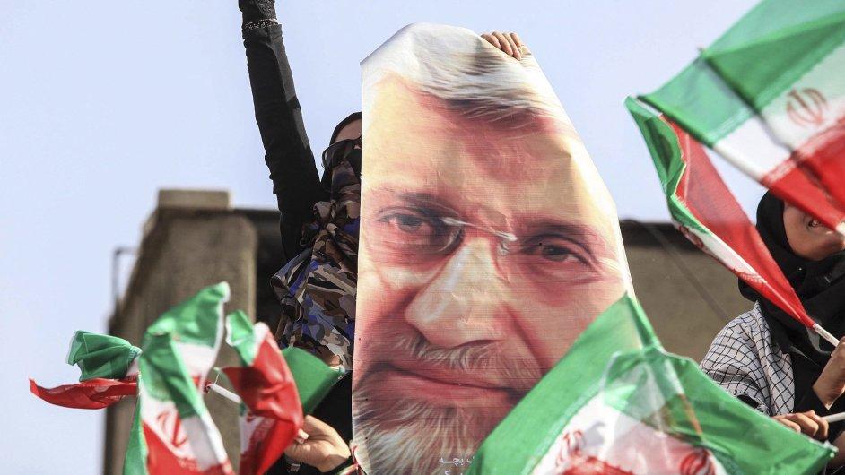 Írán, předvolební kampaň