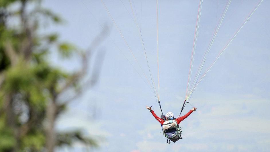 Paragliding, ilustrační foto