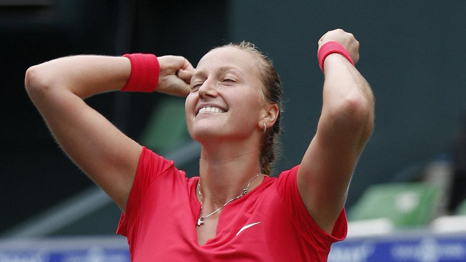 Petra Kvitová získala na turnaji v Tokiu už jedenáctý titul.