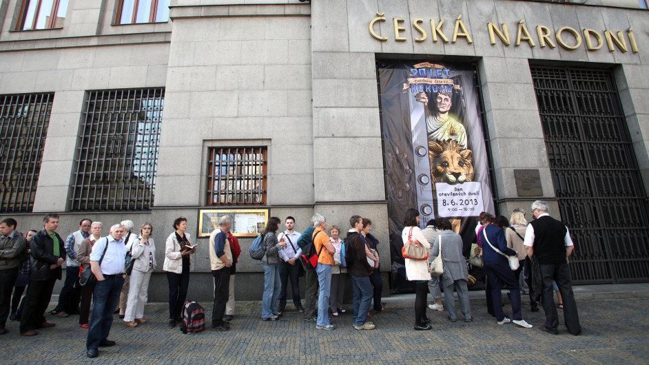 Česká národní banka během dne otevřených dveří