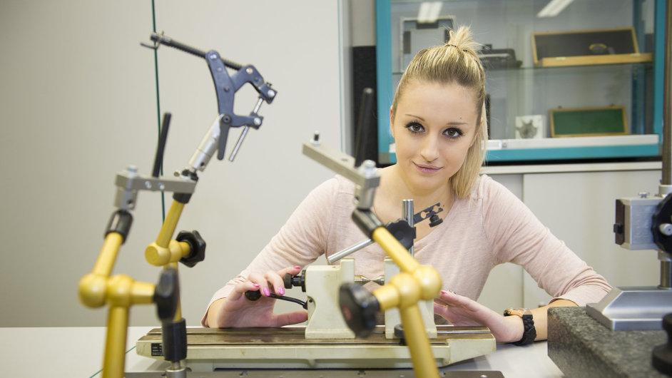 Mezi žáky Středního odborného učiliště je více než 10 procent dívek.