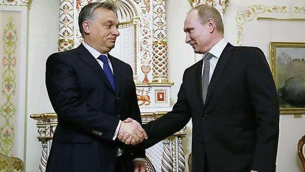 Viktor Orbán s Vladimirem Putinem