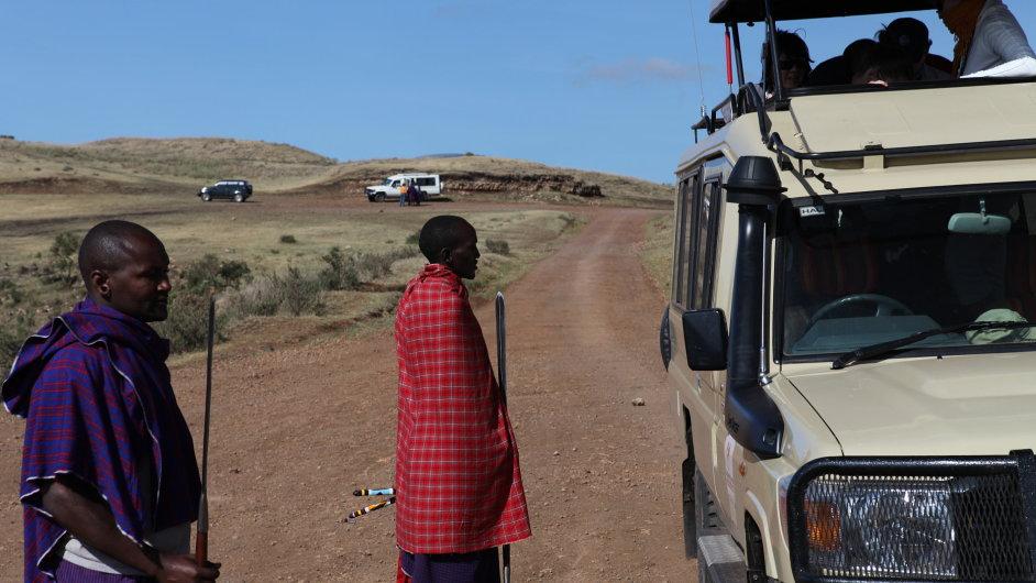 Africké safari (ilustrační foto)