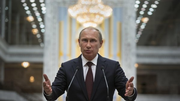 Vladimir Putin je předvídatelný realista