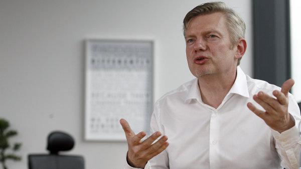 Generální ředitel O2 Tomáš Budník.