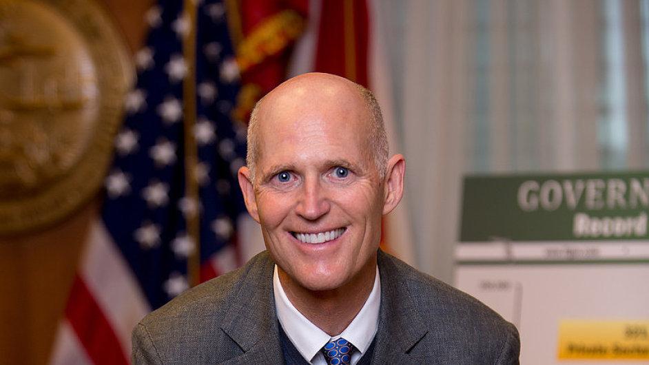 Floridský guvernér Rick Scott je ve funkci od roku 2011, vloni mandát obhájil.