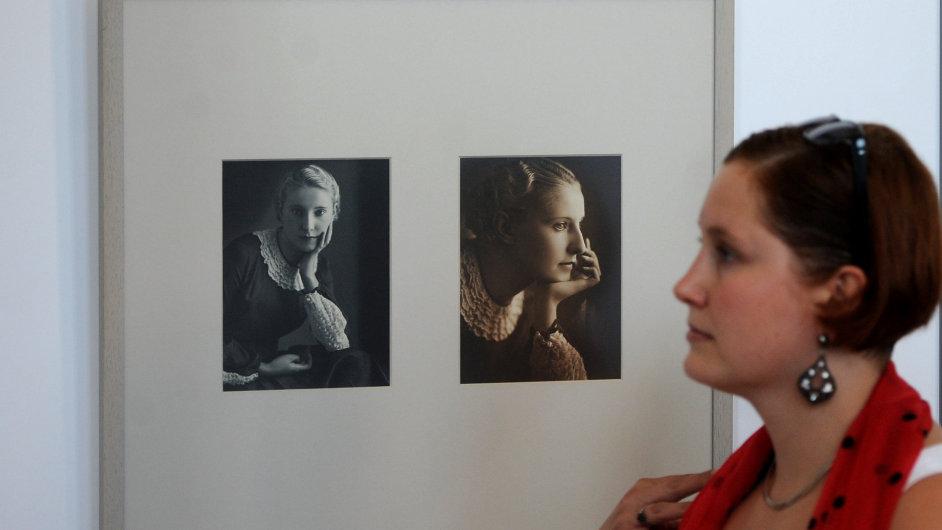 Snímky z výstavy Josipa Pelikana
