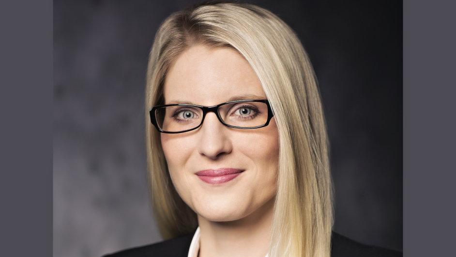 Jana ��rkov�, viceprezidentka pro firemn� z�kazn�ky spole�nosti Vodafone