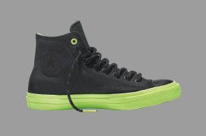 Tenisky se staly novou normou stylového pánského botníku. Novinka Chuck Taylor All Star II Shield odCONVERSE odolá deštivému počasí díky nepromokavému plátnu,