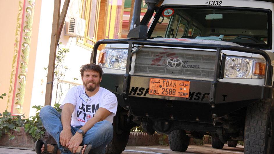 Tomáš Šebek se s týmem Lékařů bez hranic vydal na misi čtyřikrát, příště nejspíš zamíří do Afriky.