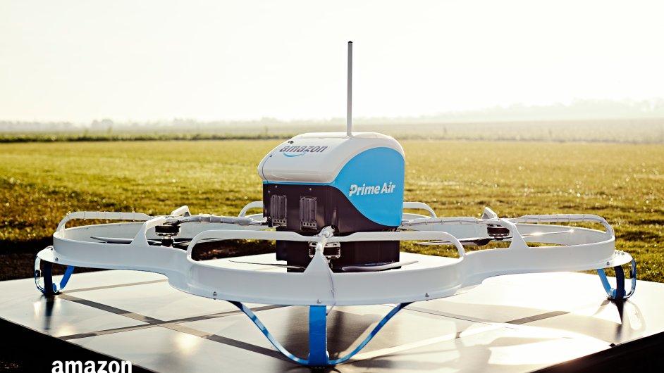 E-shop začal testovat drony ve Velké Británii