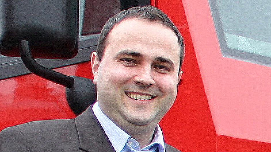 Radek Strouhal, generální ředitel společnosti TATRA TRUCKS