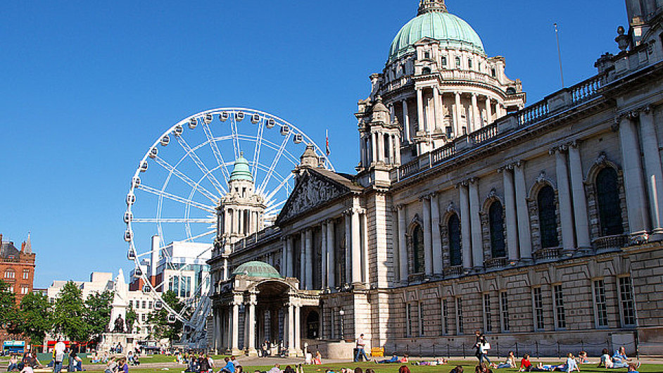 Hlavní město Severního Irska Belfast.