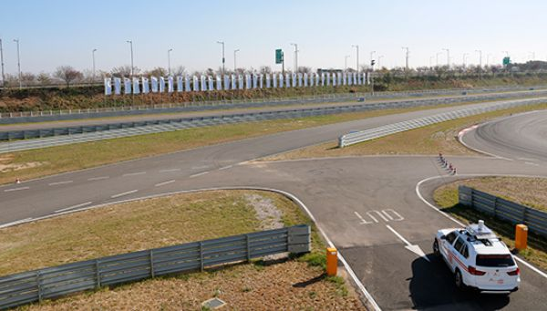 Testovací polygon BMW Group Korea