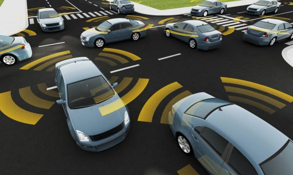 Firmy investují stamiliony do vývoje elektroniky pro samořiditelné vozy.