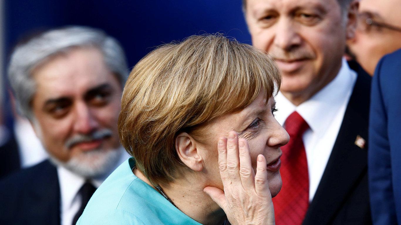 Merkel, Erdogan.