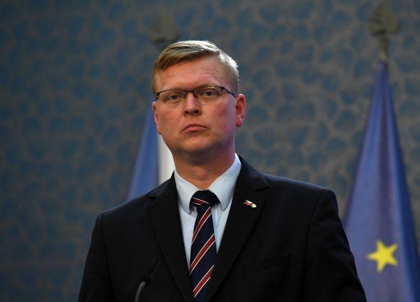 Ministr financí Andrej Babiš a Alena Schillerovávystoupili na tiskové konferenci 15. května v Praze.