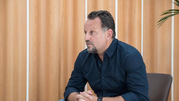 Michael Smelík, majitel společnosti Liglass Trading.