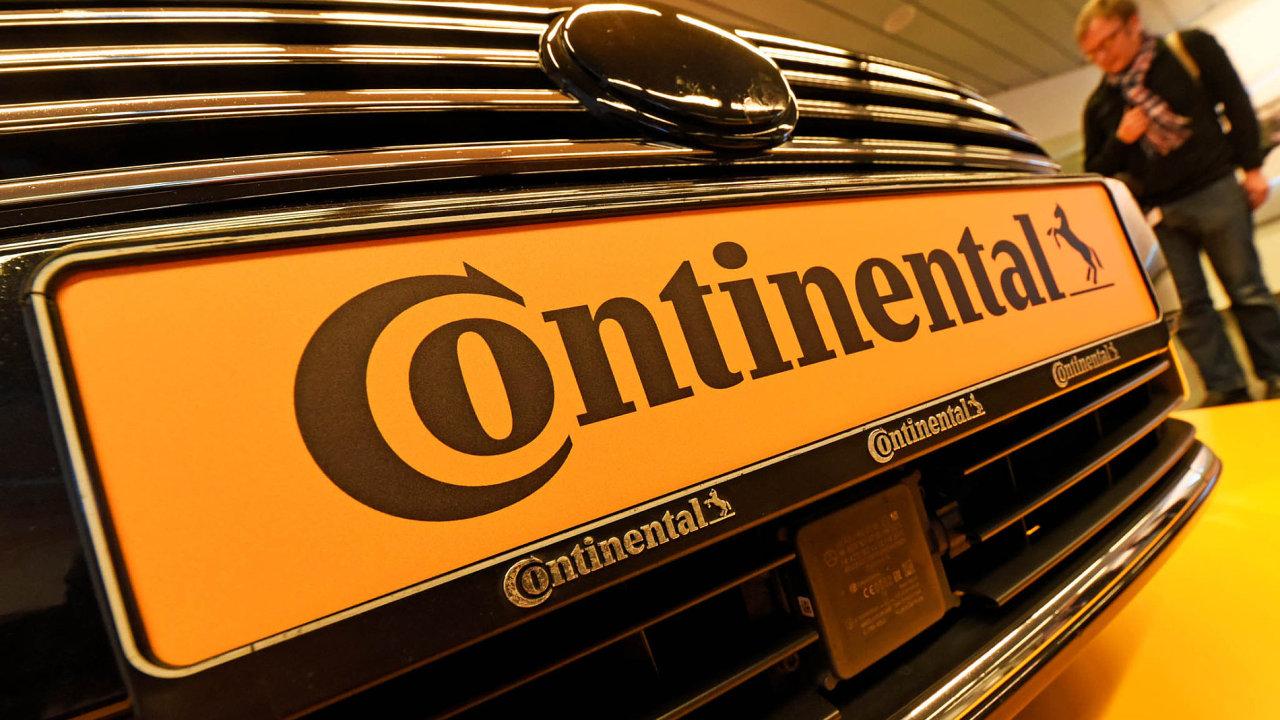 Continental chystá chytrou pneumatiku.