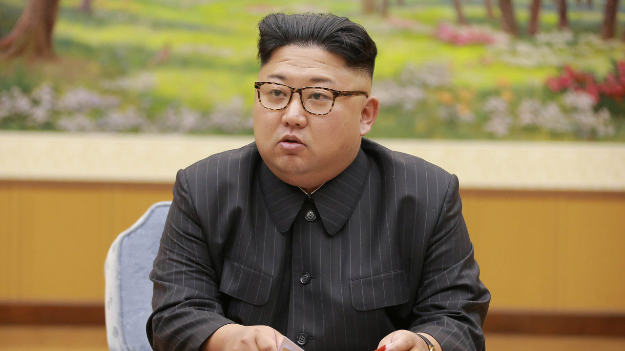 Korejský vůdce Kim Čong-un