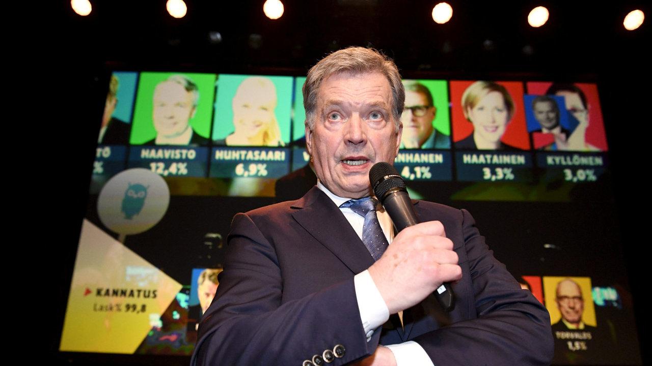 Finský prezident Niinistö povede zemi dalších šest let.