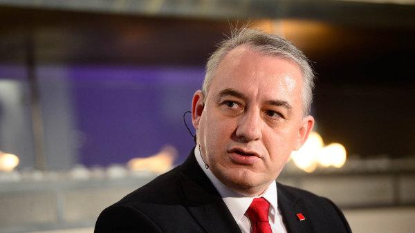 Josef Středula, předseda Českomoravské konfederace odborových svazů