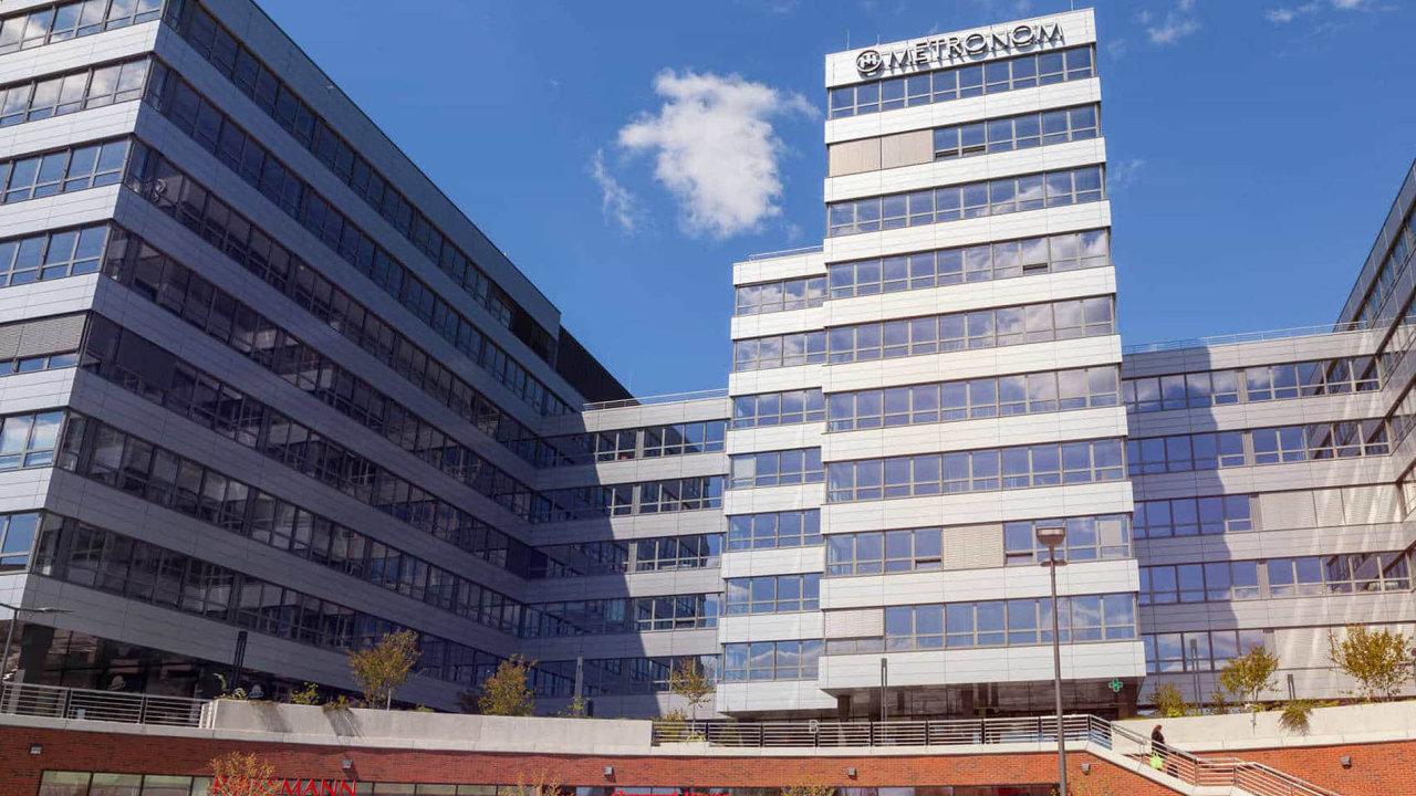 Metronom Business Center: Německá softwarová společnost SAP je zdaleka největším nájemcem této pražské budovy.