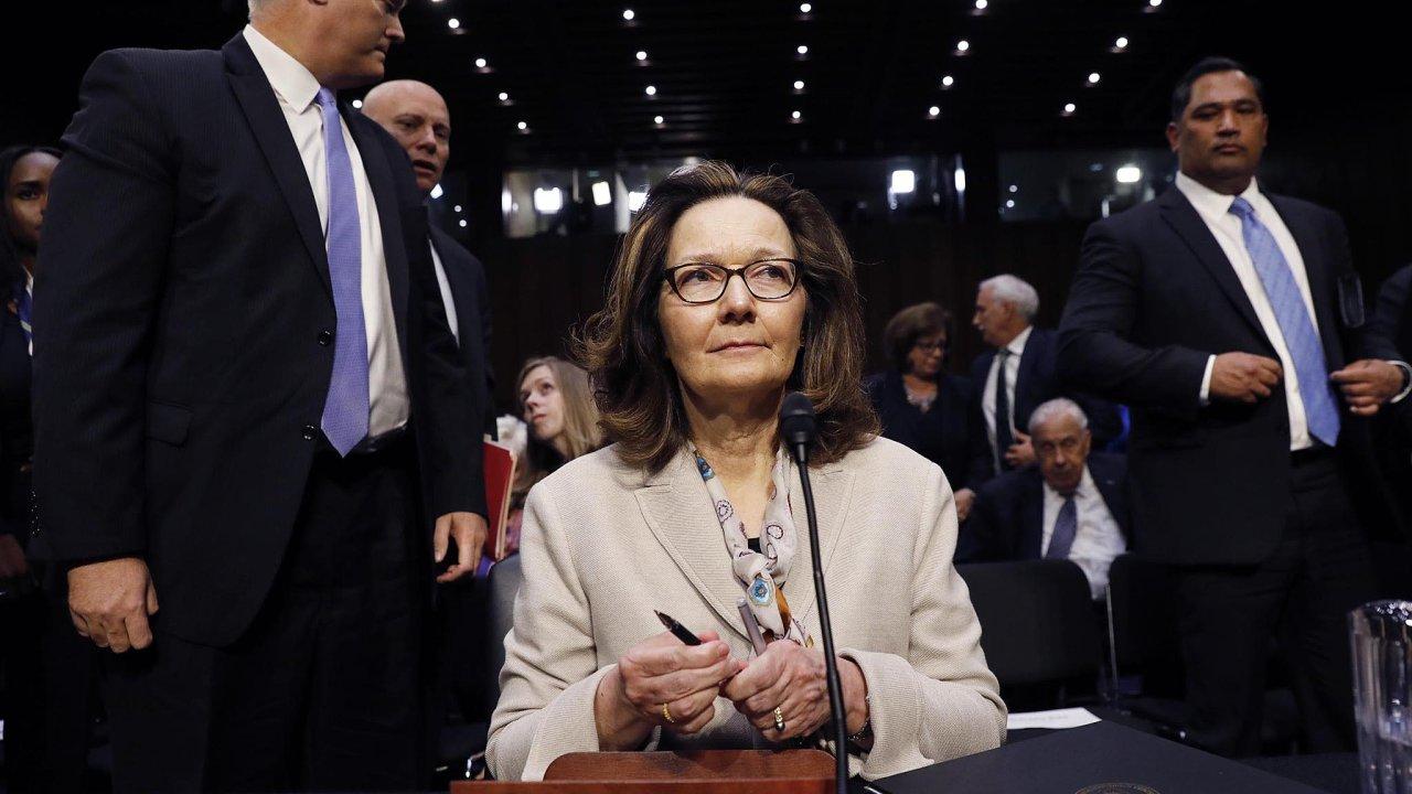 Gina Haspelová, nová šéfka CIA.
