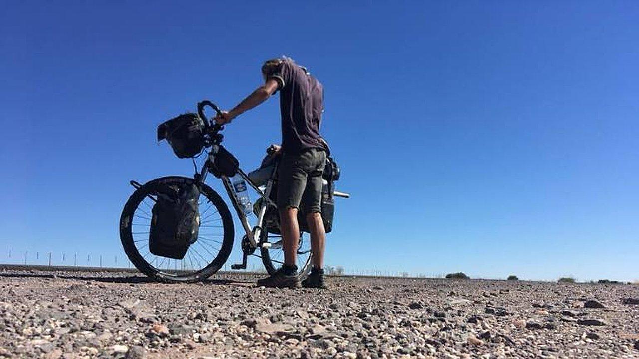 Tadeáš Šíma přejel Afriku na kole za sedm měsíců.