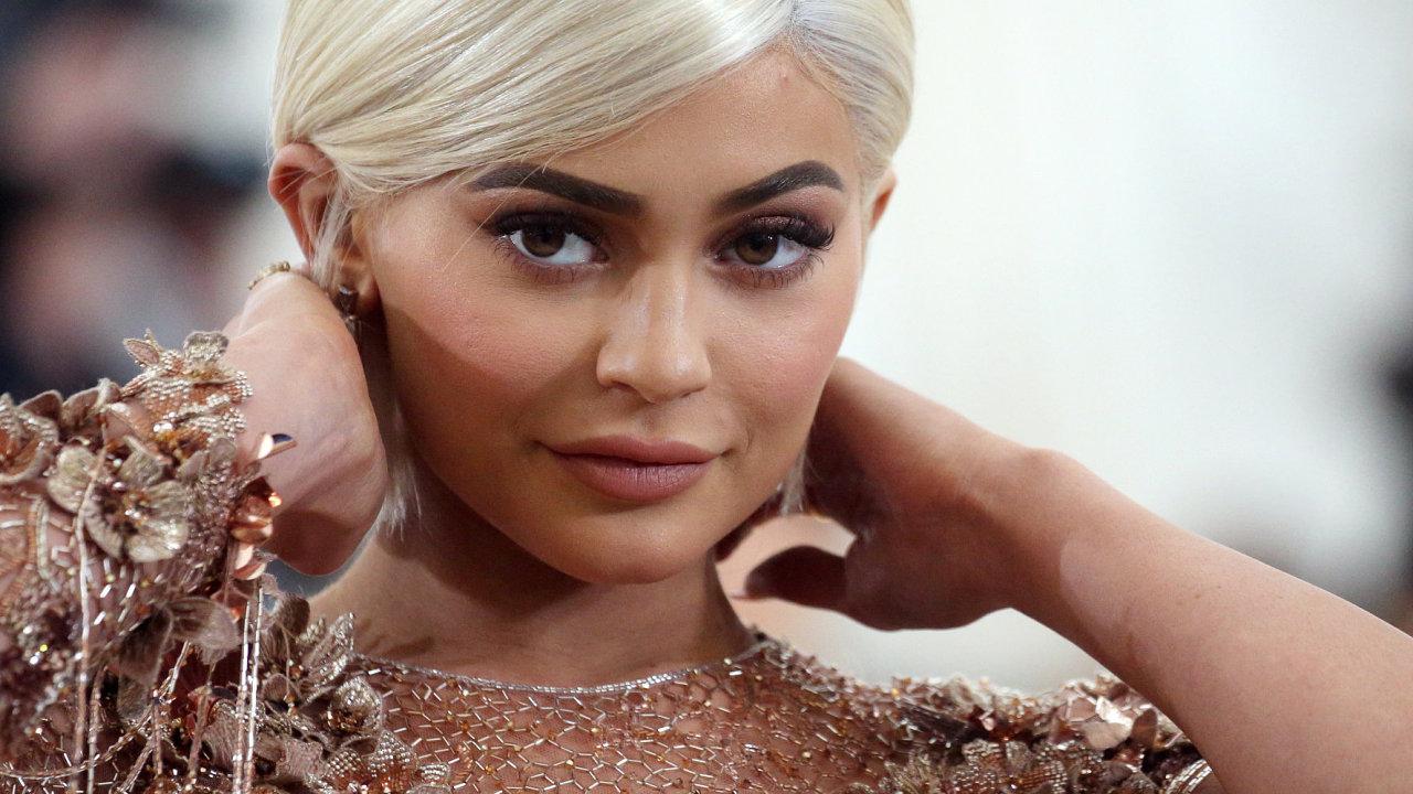 Kylie Jenner na archivním snímku z roku 2017