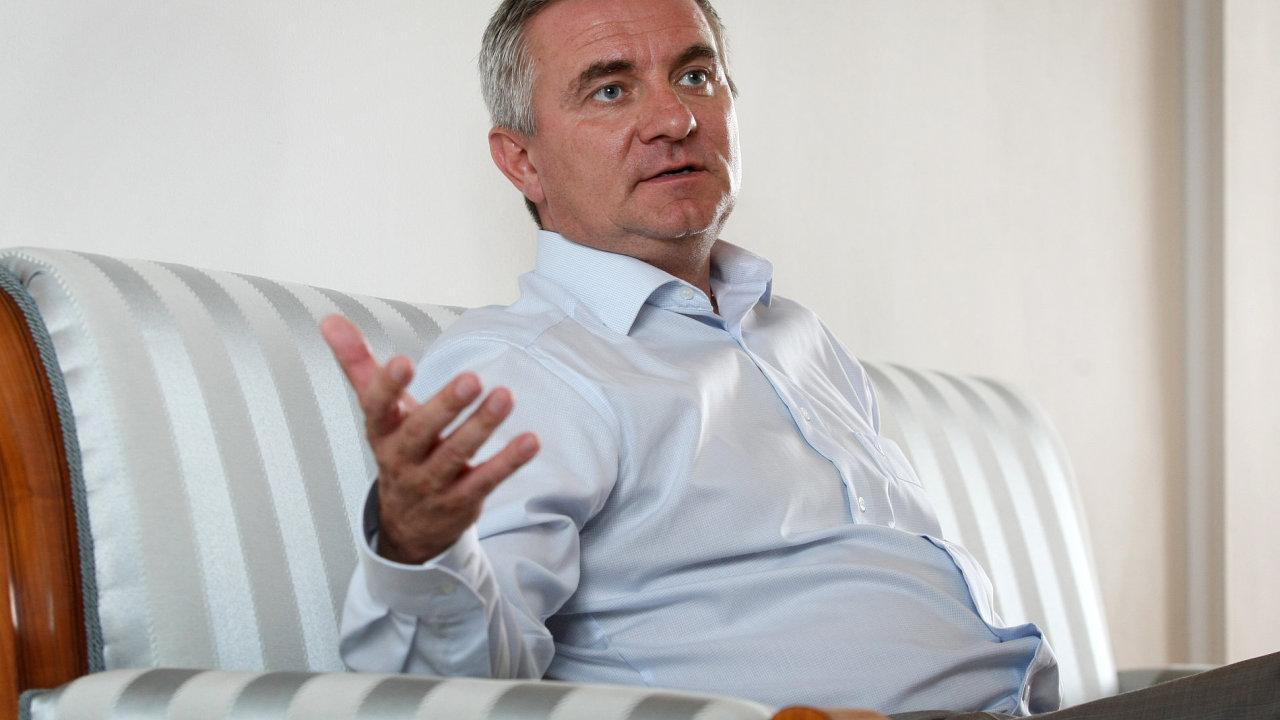 Hradní kancléř Vratislav Mynář.