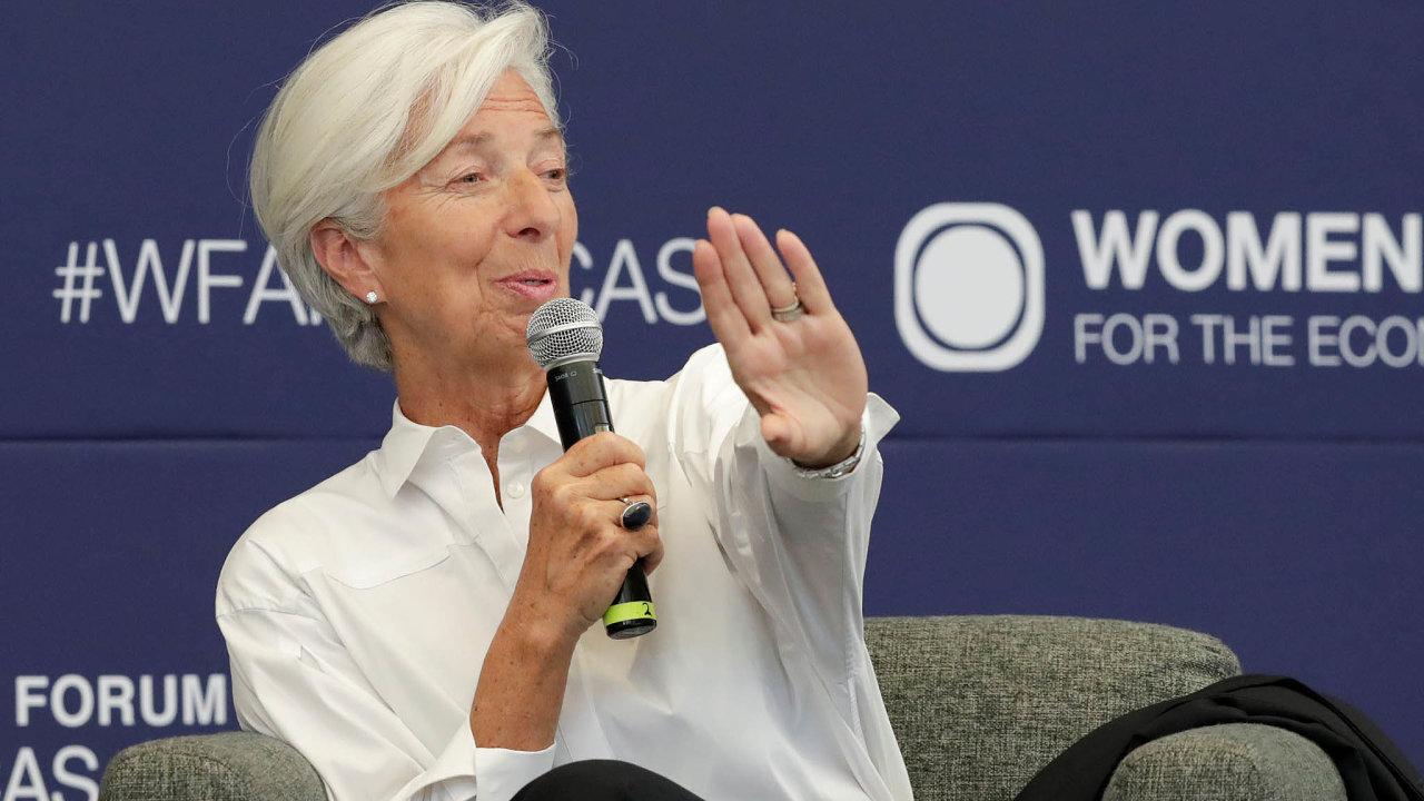 Christine Lagardeová. Jak zvládne měnící se svět nejen peněz?