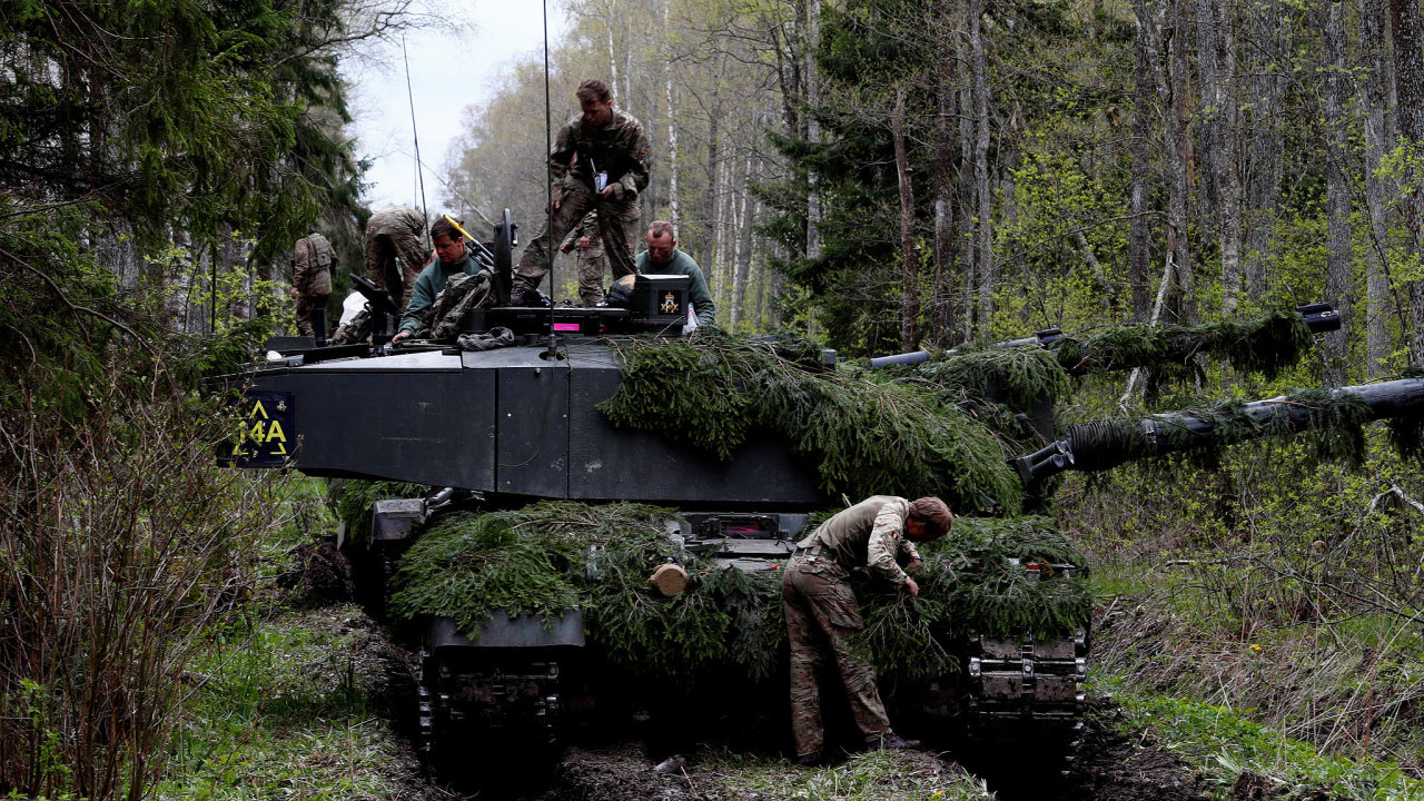 Vojenská cvičení jsou podstatná, obranu baltských spojenců vNATO ale už pomohly vylepšit i válečné hry.