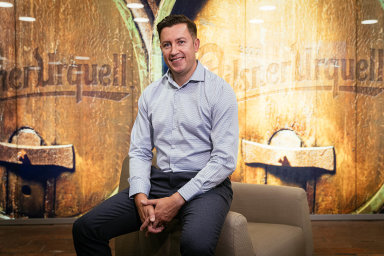 Marketingový ředitel pivovarnické skupiny Asahi pro Evropu Grant McKenzie