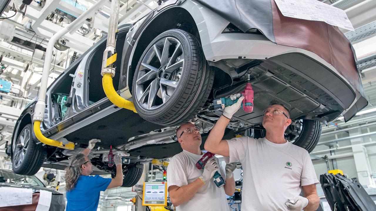 VMladé Boleslavi se vyrábí automobily Škoda Octavia, Fabia, Kamiq, Karoq aScala. Zvýrobních linek vKvasinách pak budou sjíždět modely Škoda Superb, SUV Karoq a SUV Kodiaq.