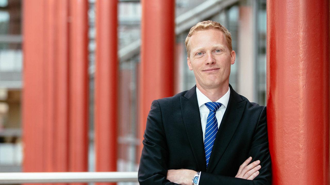 Partner Deloitte Legal a předseda nominační rady ankety Zákon roku Tomáš Babáček