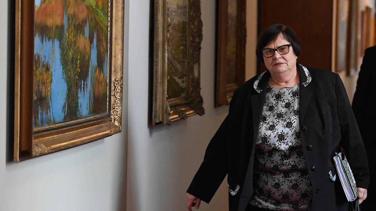 Ministerstvo spravedlnosti, které řídí Marie Benešová, stejně jako pražský vrchní soud připravují novelu, která by měla vdobě epidemie pomoci firmám.