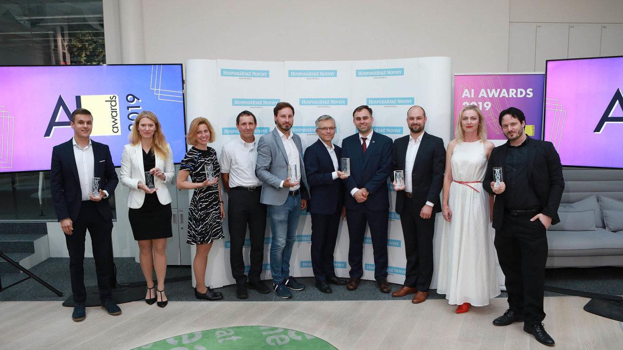 Vítězové AI Awards.