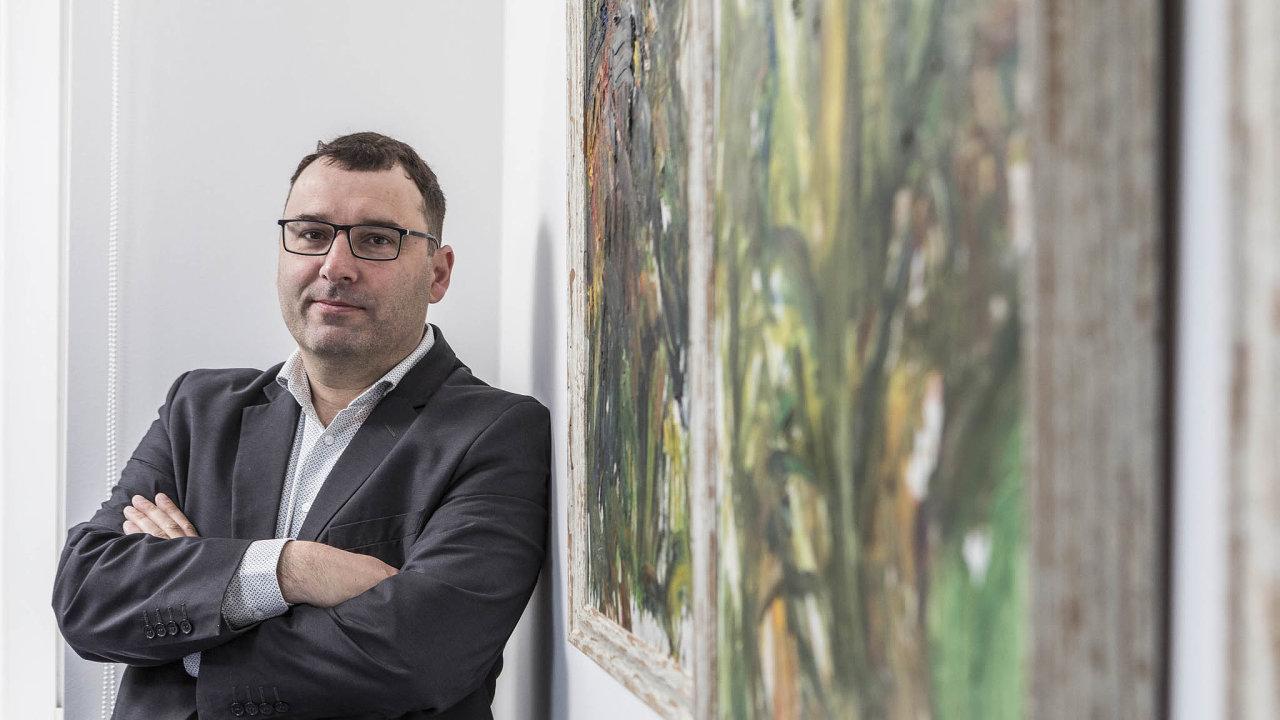 Výkonný ředitel BR Group Petr Mitura
