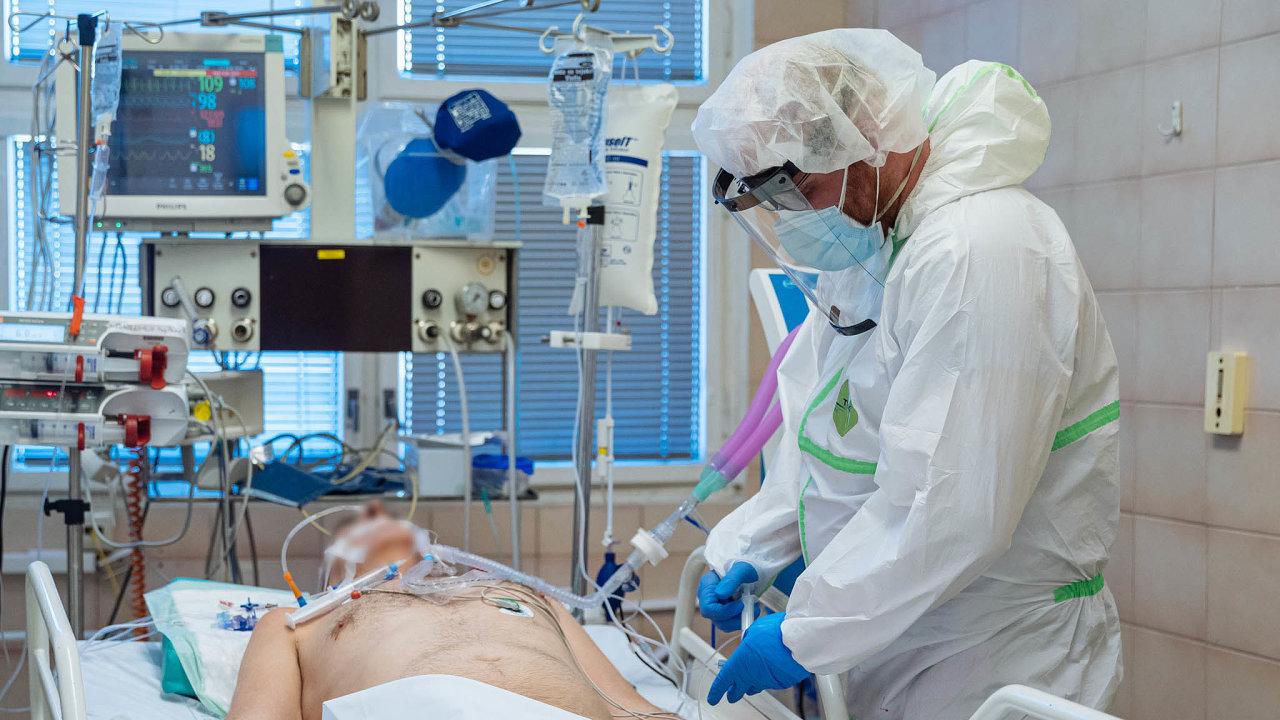 Infekční oddělení Nemocnice na Bulovce.