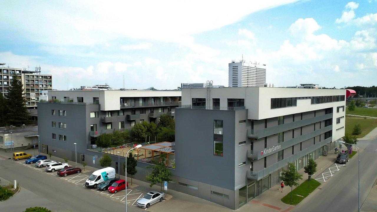 Celkem 120 nájemních bytů koupil vBrně-Bohunicích nový realitní fond založený partnery společnosti Mint. Součástí komplexu jsou iobchodní akancelářské prostory.