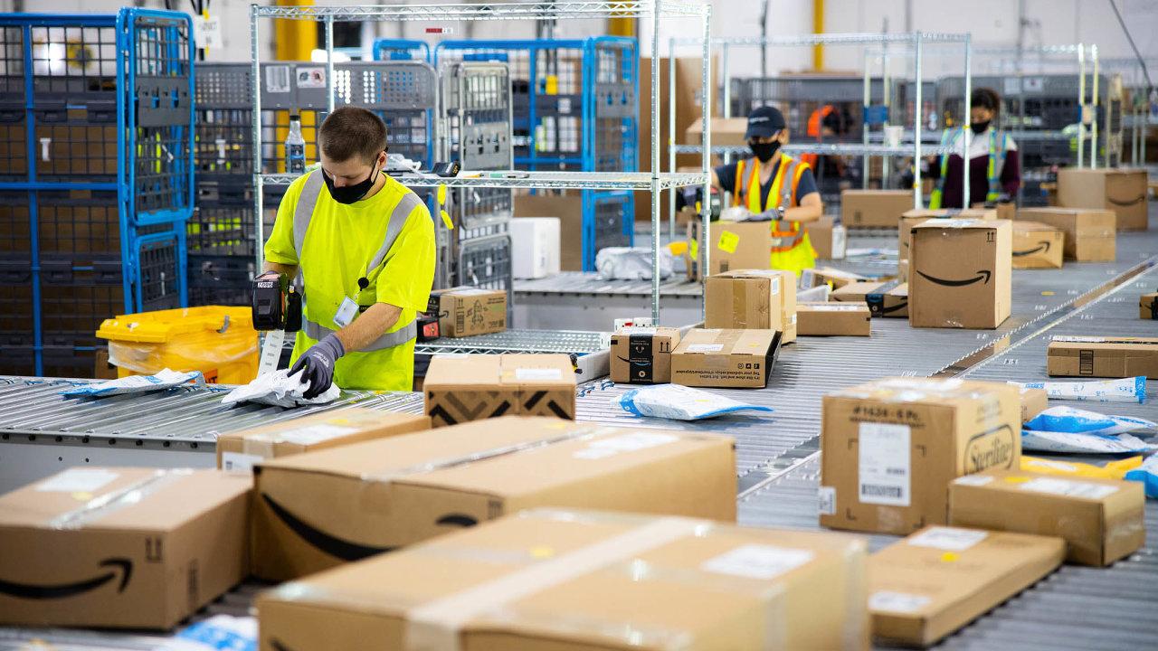 Amazon vytvoří v Itálii dalších 1100 pracovních míst (ilustrační snímek)