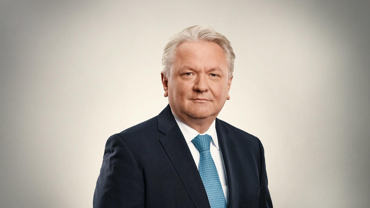 Armin Papperger, ředitel německé zbrojovky Rheinmetall.