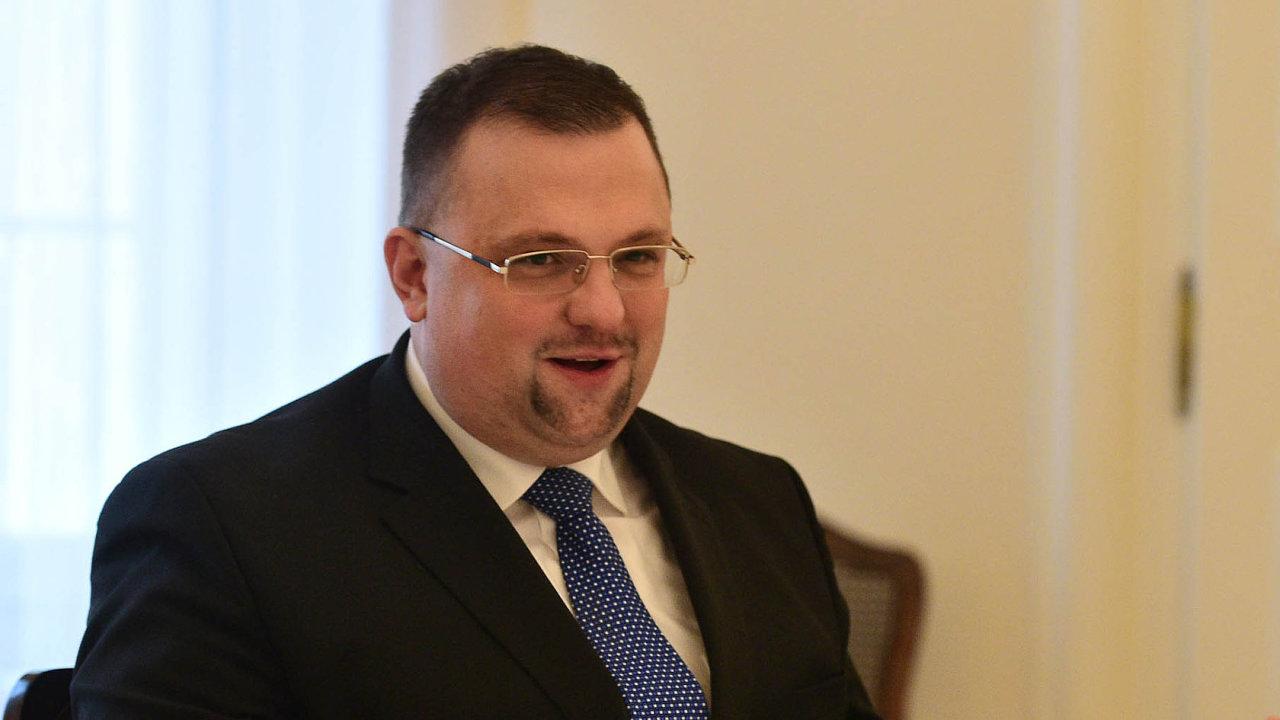 Hradní protokolář Jindřich Forejt, kterému prezident přezdívá