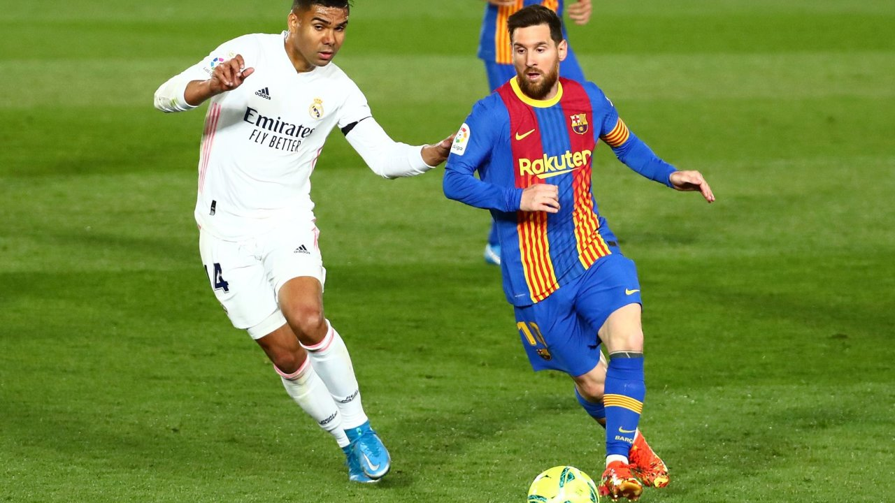Real Madrid v FC Barcelona, fotbal