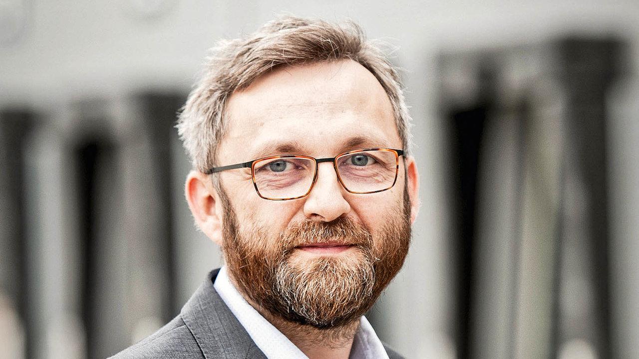 Generální ředitel lékáren Dr. Max v Česku Daniel Horák