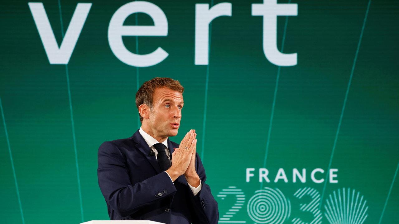 Emmanuel Macron, Francie, prezident, Francie 2030