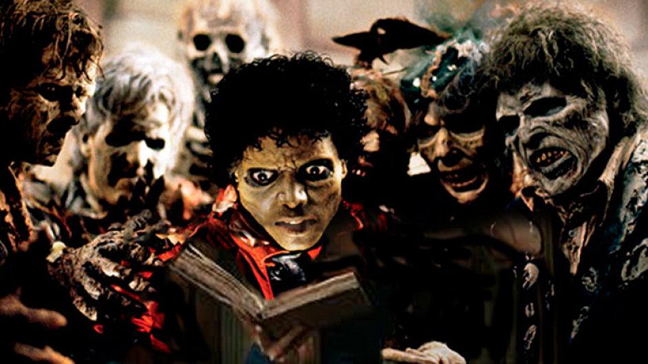 Michael Jackson v jednom z nejslavnějších klipů historie